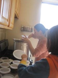 preparing chili